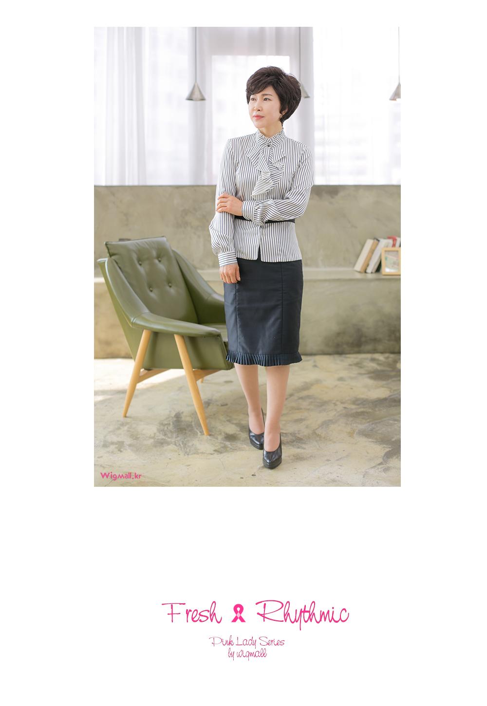 중년여성가발-에스더 - 위그몰, 64,000원, 가발, 전체가발